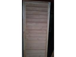 Дверь банная ЛИСТВЕННИЦА 1800 х 700