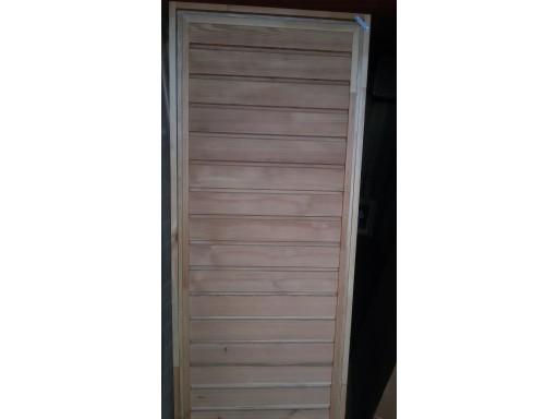 Дверь банная ЛИСТВЕННИЦА 1,8 х 0,7
