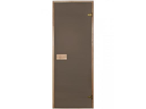 Дверь для сауны Бронза матовое ( Эстония)
