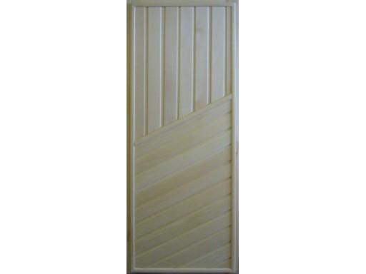 Дверь банная липа (сортВ) глухая