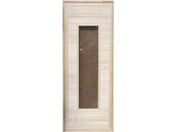 Дверь банная остекленная липа (Сорт -А)
