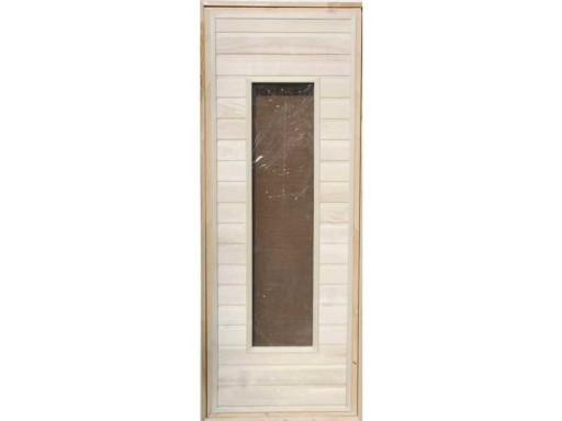 Дверь банная остекленная липа (сорт А)