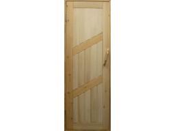 Дверь кедровая комбинированная глухая  СДГ
