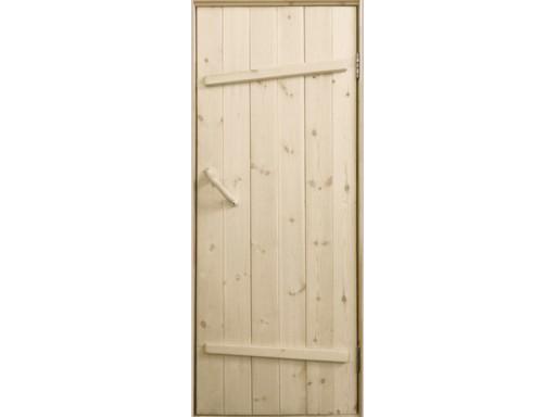 """Дверь входная массив сосна """"Ласточкин хвост"""""""