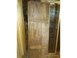 Дверь СОСНА 1900х700 массив /браш ТЕМНЫЙ ОРЕХ