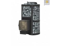 Печь банная Везувий Ураган 22 стандарт дверка ДТ-4 С/П