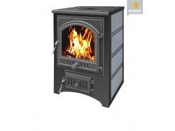 Печь-камин Везувий ПК-01 талькохлорит с плитой 12 кВт дверка 205
