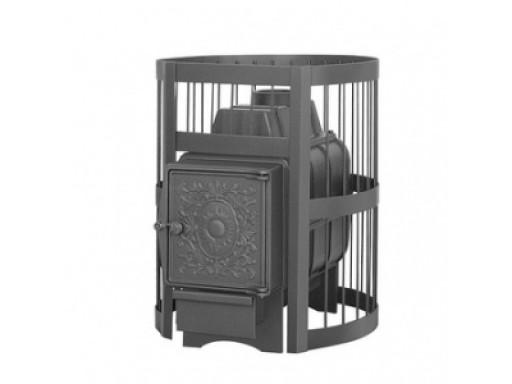 Печь банная Везувий Легенда 16 стандарт дверка чугунная б/в
