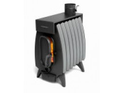 Печь отопительная Термофор Огонь - Батарея 7 антрацит лайт серый металлик