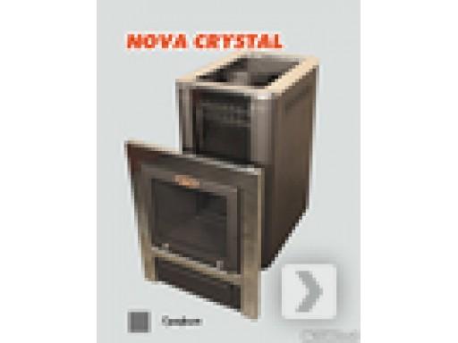 Печь банная Vira-18 CRYSTAL графит