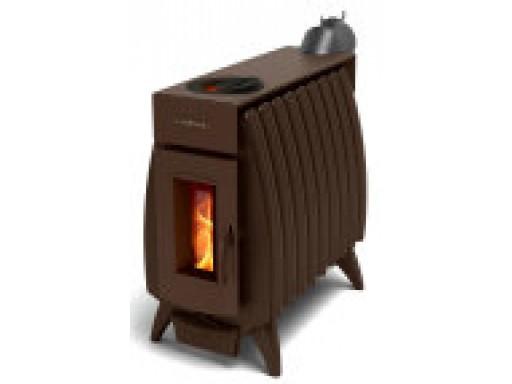 Печь отопительная Термофор Огонь - Батарея 9 шоколад