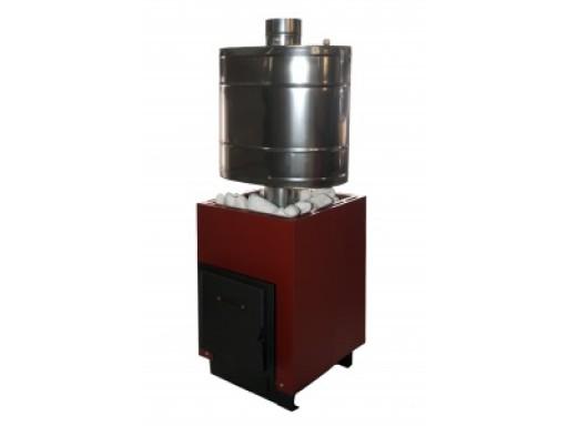 Печь банная Жарсталь Анютка мини терракота/антрацит с утк (до 10м3) С/П