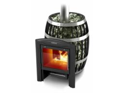 Печь банная Термофор Саяны carbon витра