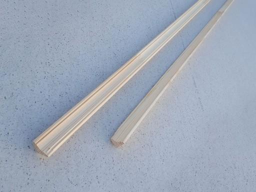 Галтель-Угол внутренний Сосна, фигурная сращенная, 20 мм, сорт 0