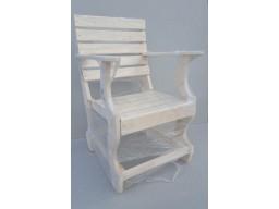 Кресло фигурное Липа с подлокотниками