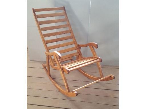 Кресло качалка, Береза под лаком