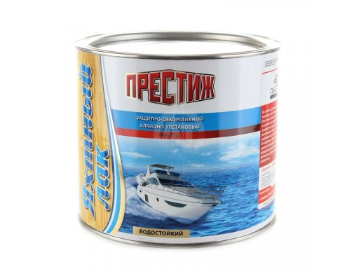 """Лак алкидно-уретановый яхтный """"Престиж"""" 1,9 л"""