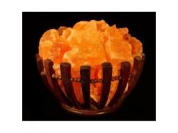 Лампа соляная «Домашний очаг»-787