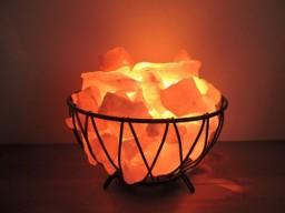 Лампа соляная «Домашний очаг»-790