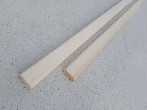 Нащельник Липа, плоский, 30 мм, сорт А