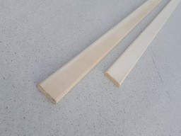 Нащельник Липа, плоский, 40 мм, сорт А