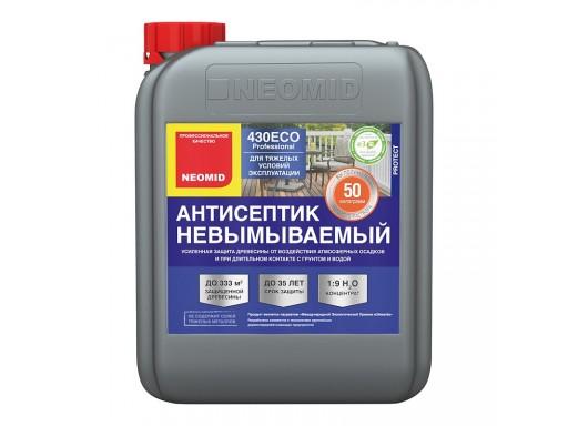 430 (5 кг) невымыв/антисептик для наружных и внутренних работ NEOMID