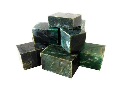 Нефрит кубики 10 кг, ведро