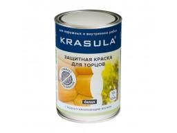 Защитная краска для торцов(белая)KRASULA 1,3кг НОРТ