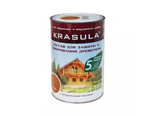 Защитно-декоративный состав KRASULA 0,95л/0,85 кг НОРТ