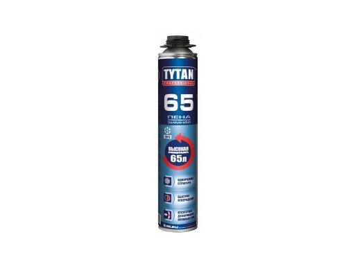 Пена TYTAN 65 профессиональная 750мл Зима