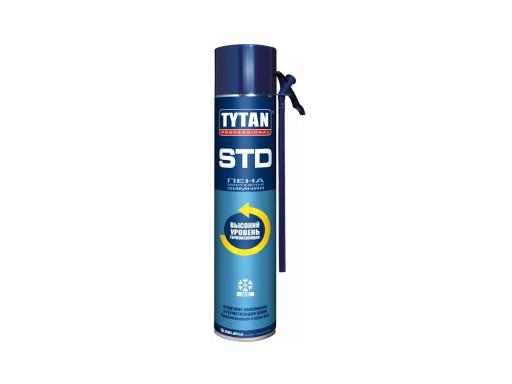 Пена TYTAN STD монтажная бытовая 750мл Зима
