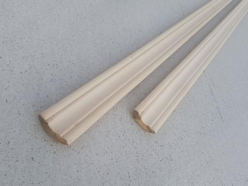 Плинтус Липа 40 мм, сорт А