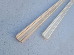 Плинтус Сосна, фигурный сращенный, 45 мм, сорт Экстра