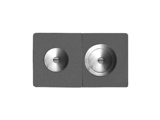 ПЛИТА ПС2-3А СБОРНАЯ (Р) 710х410х15 с оребренными конфорками