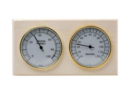 Станция банная термометр-гигрометр «Биметаллическая СББ»