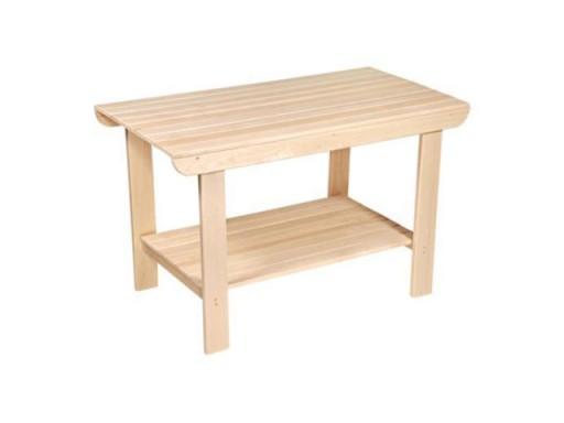 Стол с полкой ЛИПА 1,0м