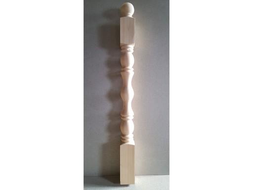 Столб начальный сосна 90*90*1,1 №4 (Сорт А)