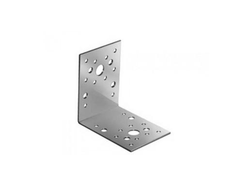 Угол металлический 90х90х40мм (2мм) оц/усиленный