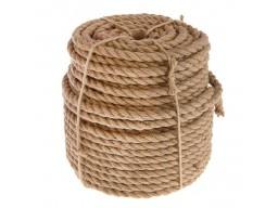 Верёвка льняная (джутовая) для срубов 16мм