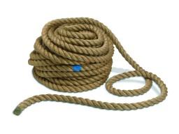Верёвка льняная (джутовая) для срубов 20мм