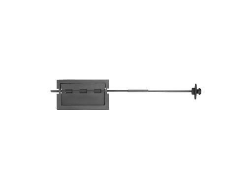 ЗАДВИЖКА ЗВП-1 (Р) 330х190х1028 (274х146)поворотная